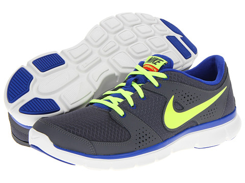 Adidasi Nike - Flex Experience Run - Dark Grey/Hyper Blue/Pimento/Volt