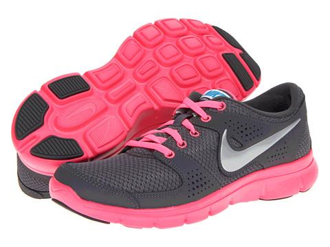 Adidasi Nike - Flex Experience Run - Dark Grey/Metallic Silver/Digital Pink/Neo Turquoise