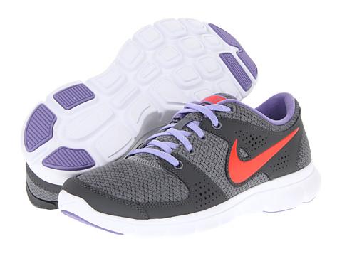 Adidasi Nike - Flex Experience Run - Cool Grey/Medium Violet/Dark Grey/Bright Crimson