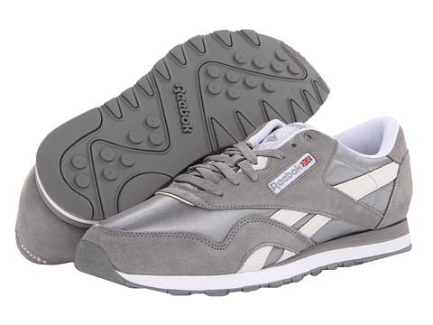 Adidasi Reebok - Classic Nylon Monocolor - Flat Grey/White/Steel