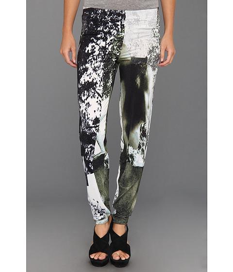 Pantaloni Diesel - Luchan Leggings - White