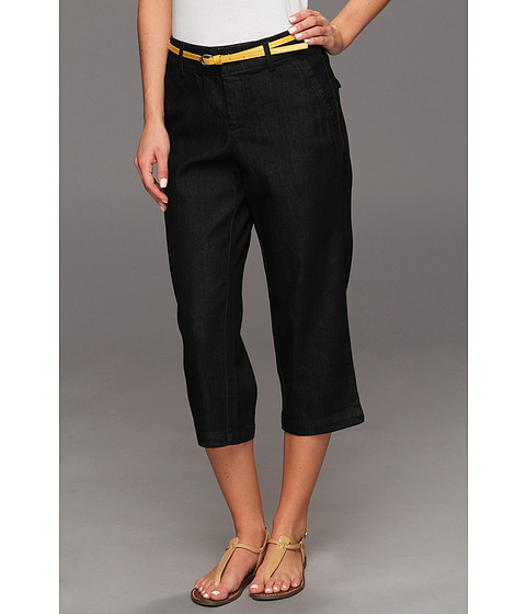Pantaloni Dockers - Denim Belted Capri w/ Hello Smooth - Denim - Midnight Wash