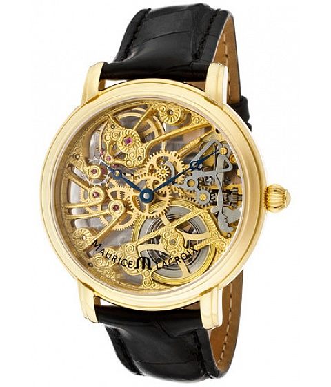 Ceasuri Maurice Lacroix - Maurice Lacroix Watch Mp7048-yg101-000 Mens Masterpiece Mechanical 18k Gold - Multicolor