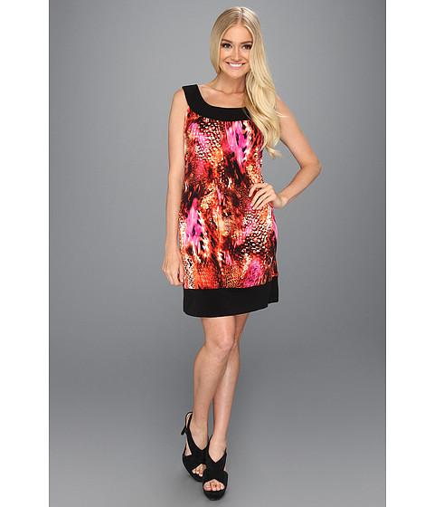 Rochii Christin Michaels - Acima Dress - Orange/Brown