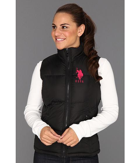 Jachete U.S. Polo Assn - Solid Puffer Vest - Black