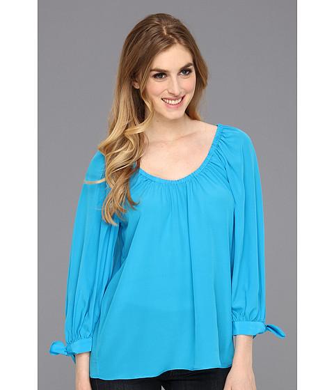Bluze Trina Turk - Star Blues Blouse - Blue Jewel