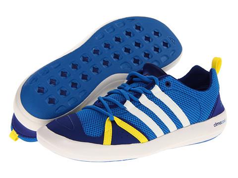 Adidasi adidas - Boat CC Lace - Pride Blue/Chalk/Vivid Yellow