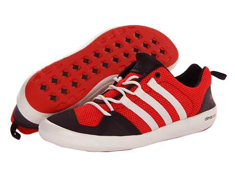 Adidasi adidas - Boat CC Lace - Hi-Res Red/Chalk/Night Burgundy