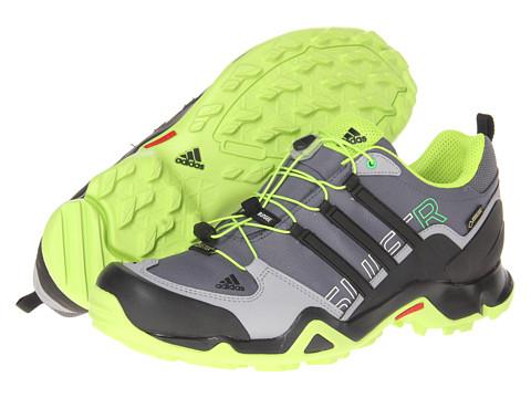 Adidasi adidas - Terrex Swift R GTX® - Lead/Black/Solar Slime