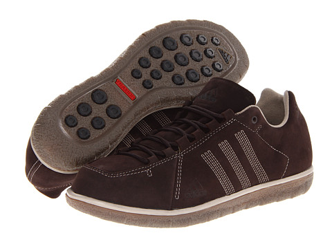 Adidasi adidas - Zappan DLX - Dark Brown/Collegiate Silver/Grey Blend
