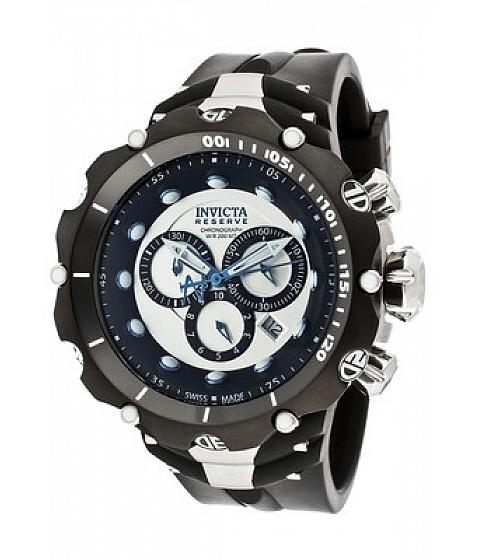 Ceasuri I by Invicta - Invicta Watch 11705 Mens Venom/reserve Chronograph Silver Dial Black - Multicolor