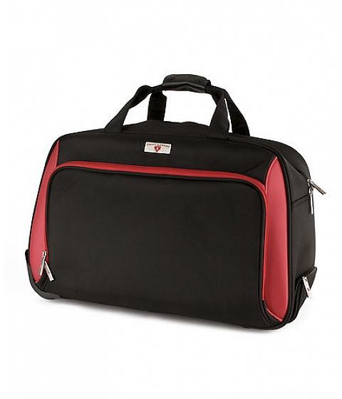 Ceasuri Swiss Legend - Swiss Legend 13 Black & Red Wheeled Duffle Bag - Multicolor