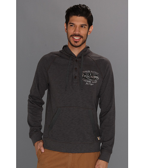 Bluze Lucky Brand - Triumph Hoodie - Magnet
