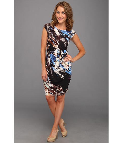Rochii Karen Kane - Knotted Paint Splash Dress - Print