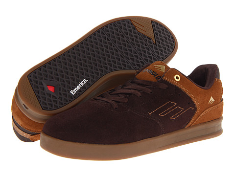 Adidasi Emerica - The Reynolds Low - Brown/Brown/Gum