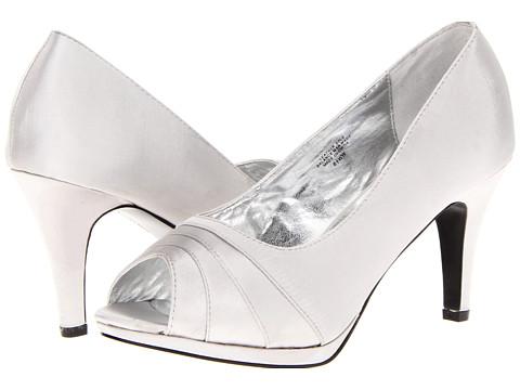 Pantofi Bouquets - Carlina - Silver Satin