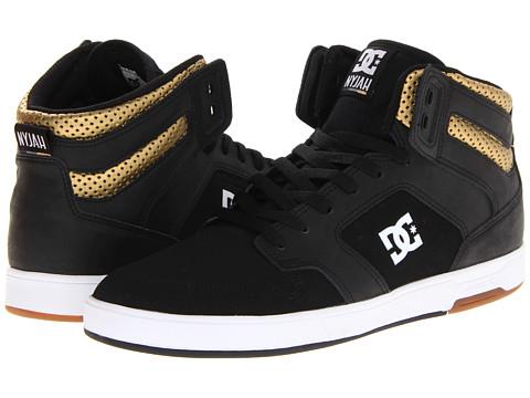 Adidasi DC - Nyjah HI - Black/Gold
