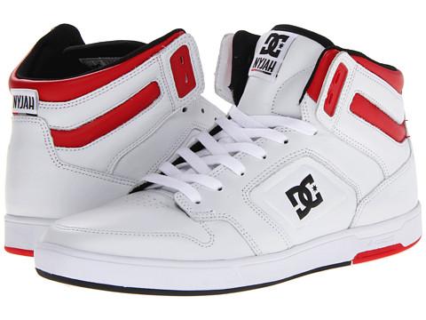 Adidasi DC - Nyjah HI SE - White/Black/Red