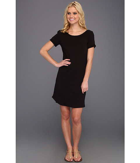 Rochii Splendid - Scoop Neck Tee Dress - Black