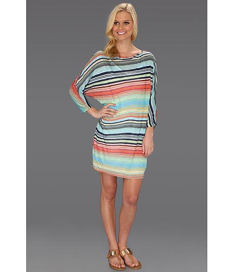Rochii Michael Stars - Happy Stripe Dolman Mini Dress - Alantic