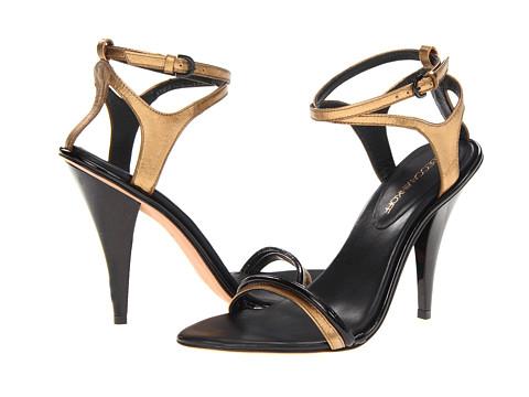Pantofi Rebecca Minkoff - Bellina - Bronze Metallic Nappa/Black Patent