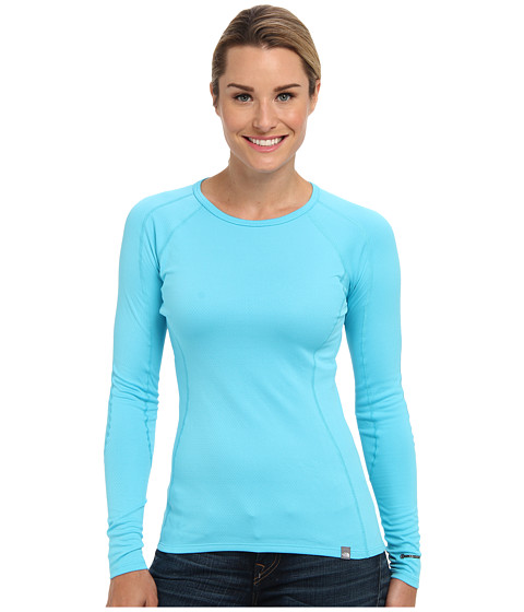 Bluze The North Face - Warm Crew Neck - Turquoise Blue