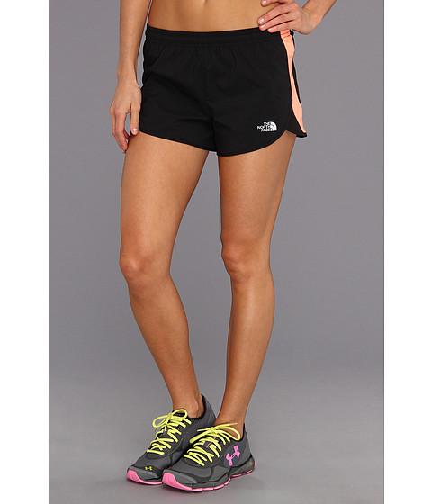 Pantaloni The North Face - Better Than Nakedâ⢠Split Short - TNF Black/Electro Coral Orange