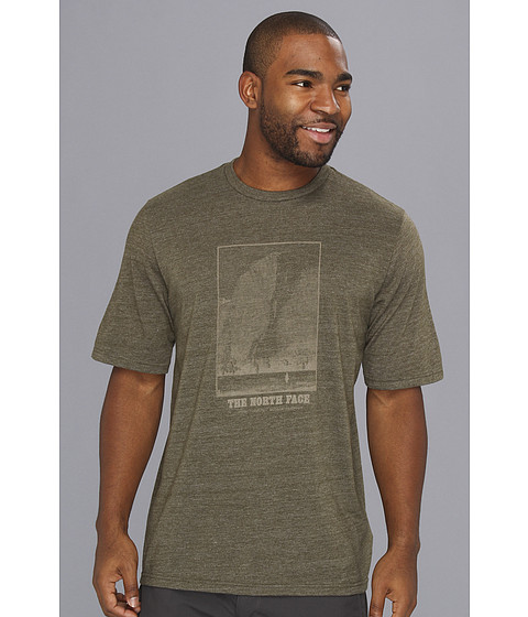 Tricouri The North Face - S/S Heading Back Tee - New Taupe Green/Dune Beige