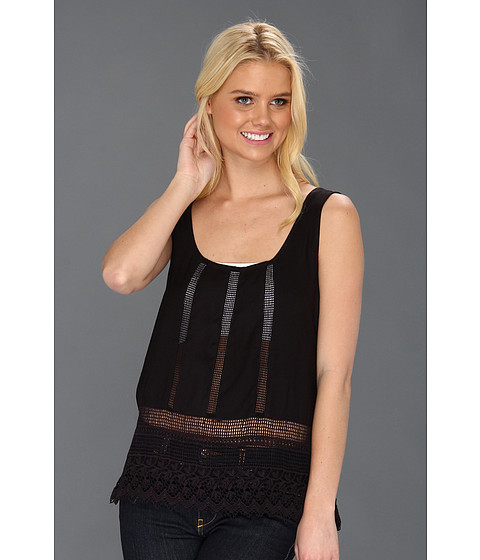 Tricouri Roxy - Another Night Scoop Neck Tank Top - True Black