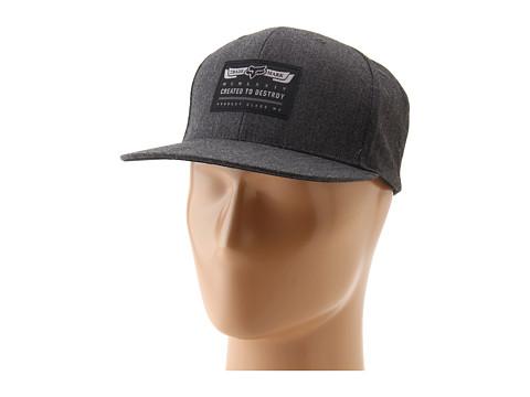 Sepci Fox - Backstop Snapback Hat - Black
