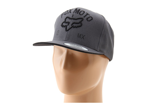 Sepci Fox - Knowhere Snapback Hat - Charcoal