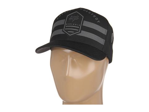 Sepci Fox - Shookdown Snapback Hat - Black