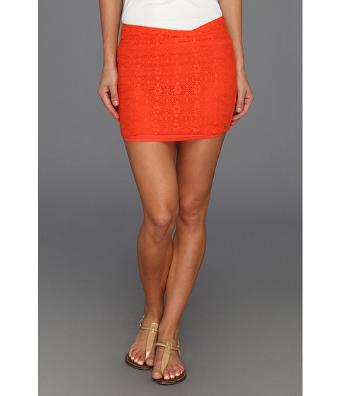 Fuste Volcom - Laced Wave Skirt - Electric Orange