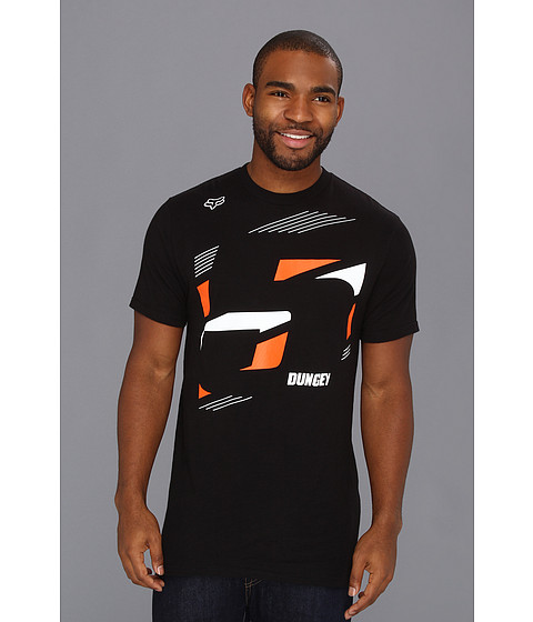 Tricouri Fox - Dungey 5 Basic T-Shirt - Black
