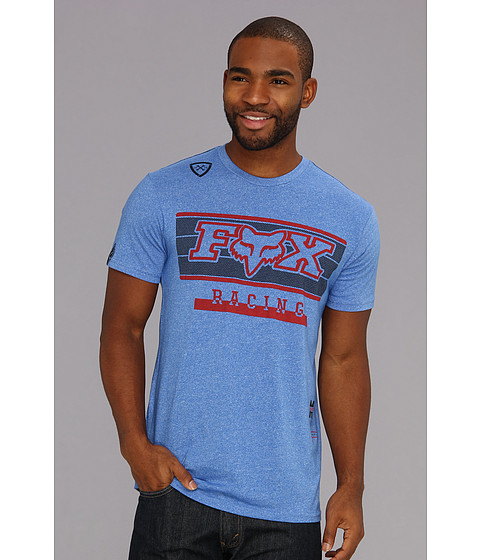 Tricouri Fox - Track Star S/S Premium Tee - Blue