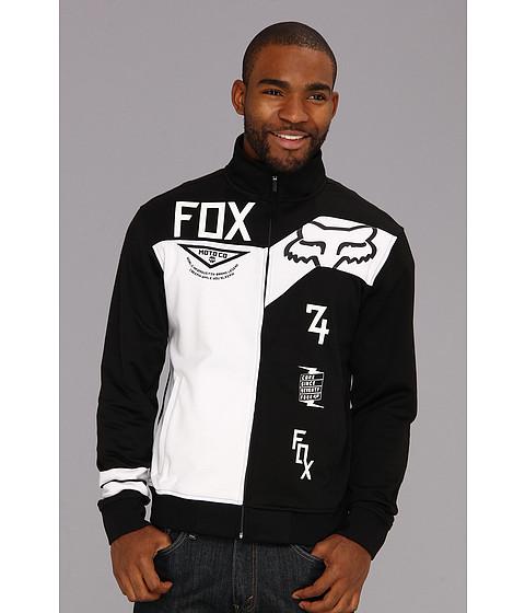 Bluze Fox - Machina Track Jacket - Black