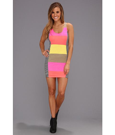 Rochii Hurley - Babes Tank Dress - Neon Pink 3
