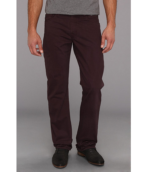 Blugi AG Adriano Goldschmied - Protege Straight Leg Sueded Stretch Sateen - Plum
