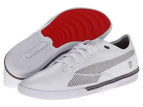 Adidasi PUMA - Novellino Ferrariî - White/Steel Gray