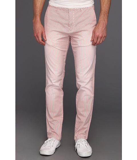 Pantaloni Scotch & Soda - Gainsbourg Slim Fit Summer Chino Pant - Red/White