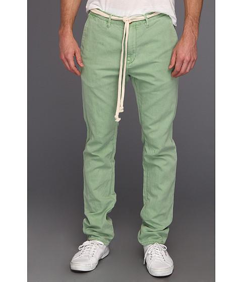 Pantaloni Scotch & Soda - Jagger Cotton Linen Chino Pant with Belt - Mint