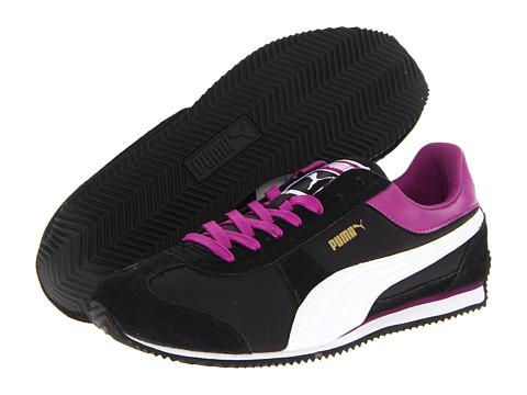 Adidasi PUMA - Puma Speeder Aley Wn\s - Black/Sparkling Grape