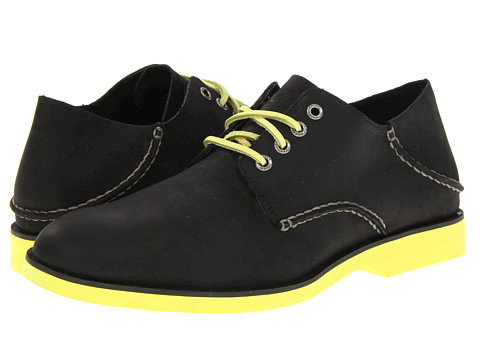 Pantofi Sperry Top-Sider - Boat Oxford Neon - Black/Citron