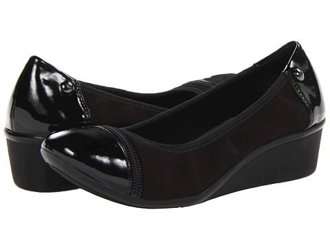 Pantofi Anne Klein New York - AK7Dyane - Black Matte Stretch