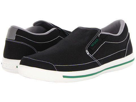 Adidasi Crocs - Evercourt Slip-On Sneaker - Black/White