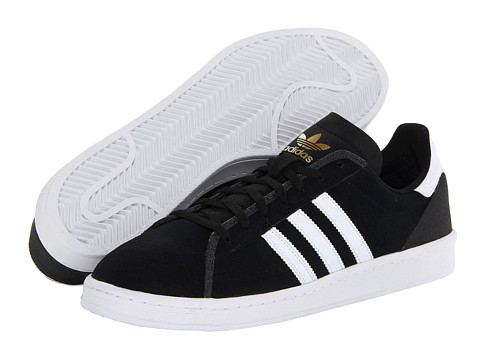 Adidasi adidas - Campus AS - Black/Running White/Metallic Gold