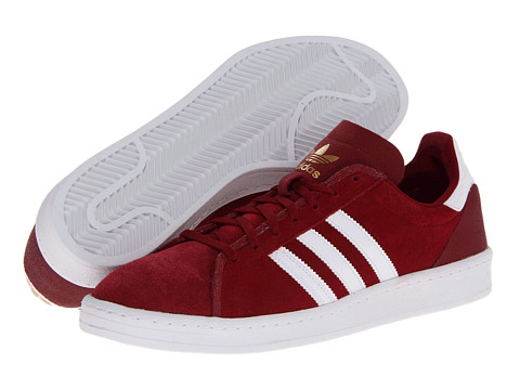 Adidasi adidas - Campus AS - Cardinal/Running White/Metallic Gold