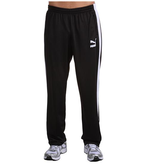 Pantaloni PUMA - Heroes T7 Track Pant - Black/White