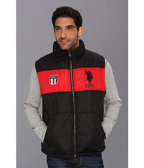 Jachete U.S. Polo Assn - Color Block Vest w/ Big Pony - Black