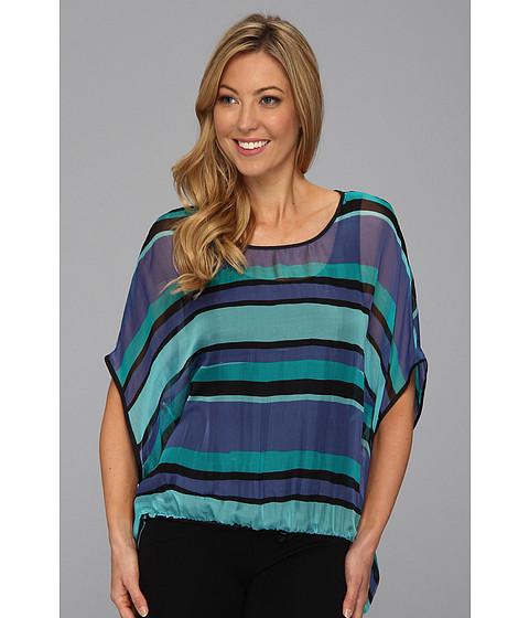 Bluze Karen Kane - Coastal Scarf Top - Stripe